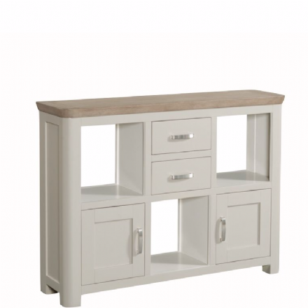 Treviso Painted Low Display Unit
